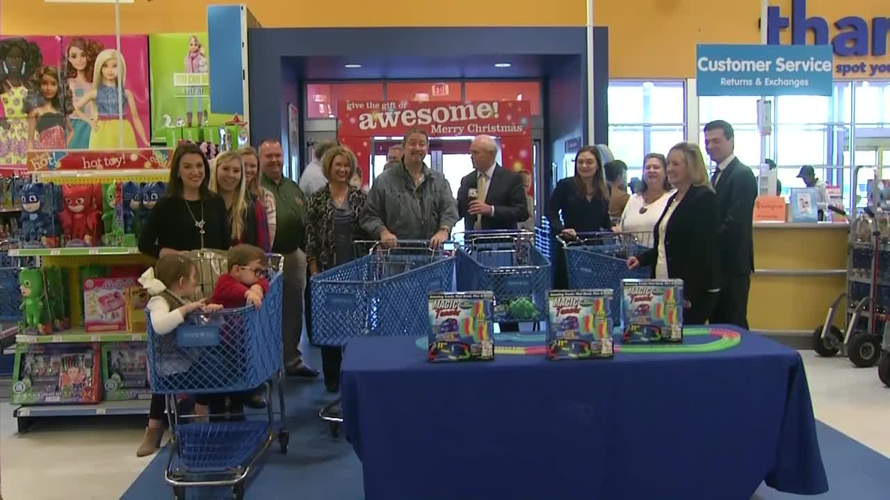 Air Specialty's Great Toy Drive Shopping Spree