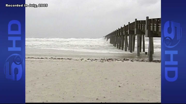 Hurricane Dennis in 2005
