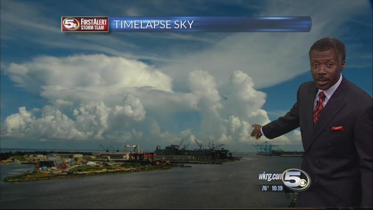Sky Clouds Timelapse Cumulonimbus Features