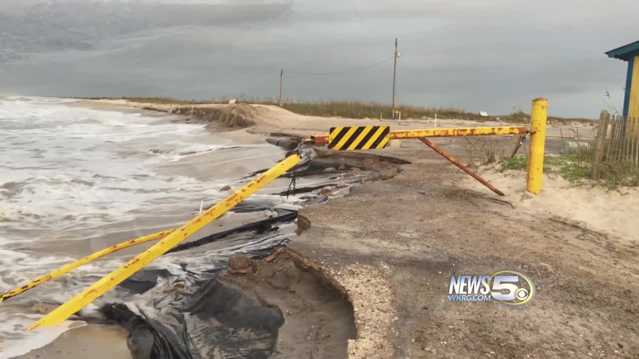 Hurricane Nate Scenes on the Gulf Coast