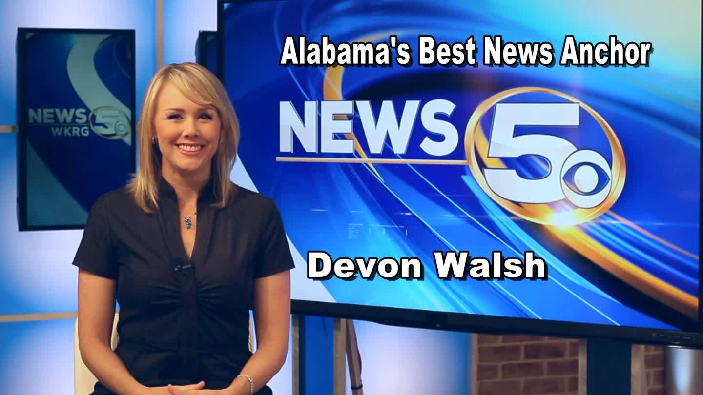 A moment with Alabama's Best News Anchor, Devon Walsh