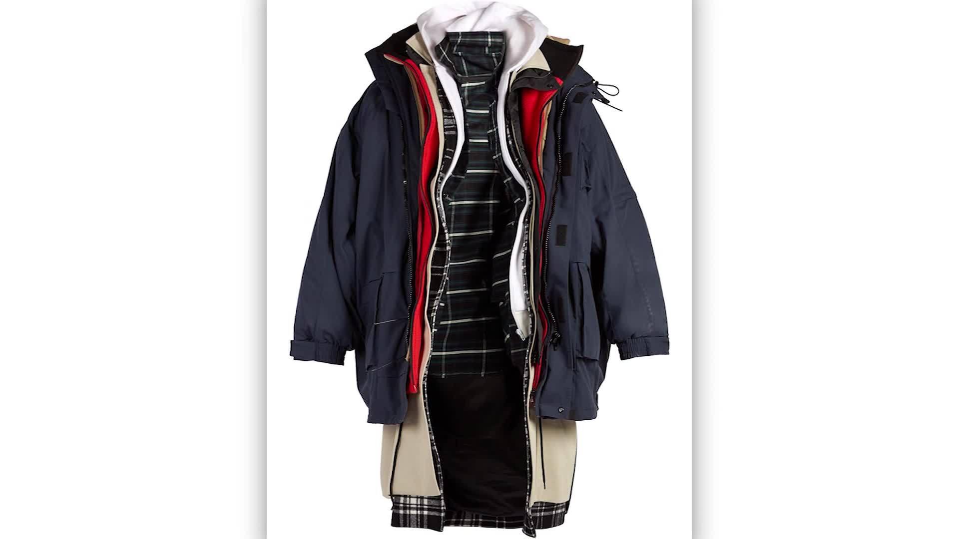 Balenciaga selling 7-layer jacket for $9,000