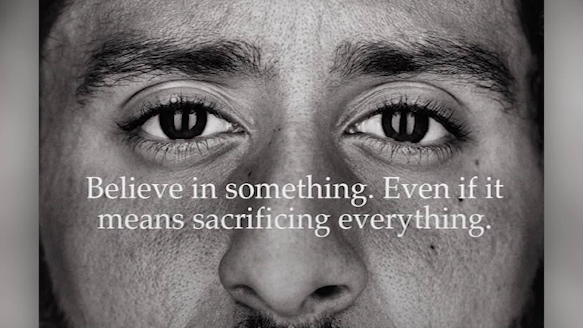 Colin Kaepernick named as face of Nike's 30th anniversary 'Just Do It' campaign