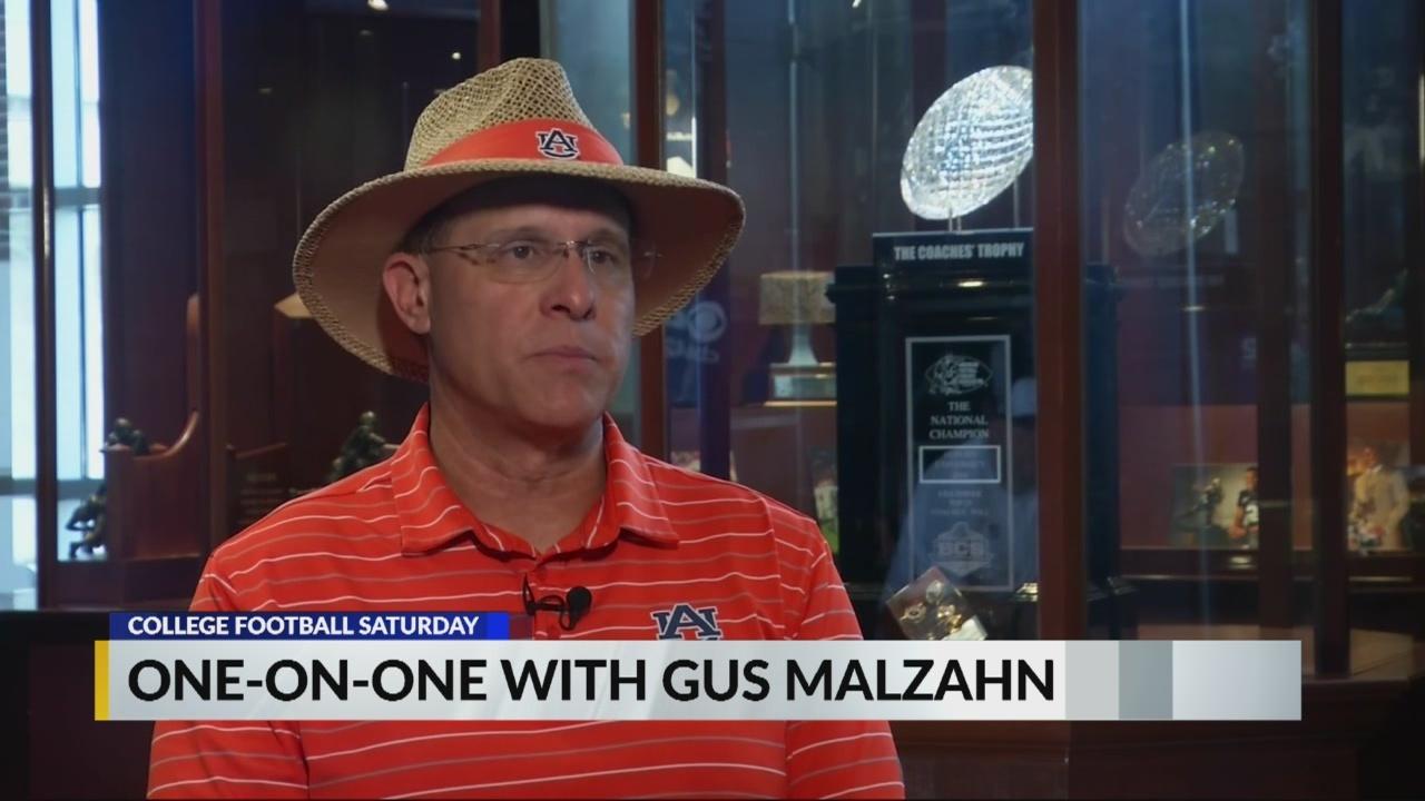 One-on-one interview with Auburn head coach Gus Malzahn