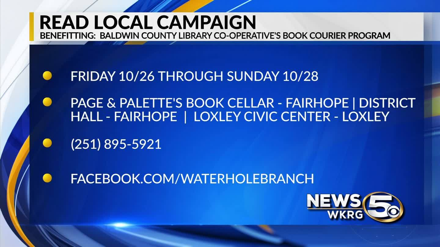 """Mark Your Calendar"" - Read Local Campaign"