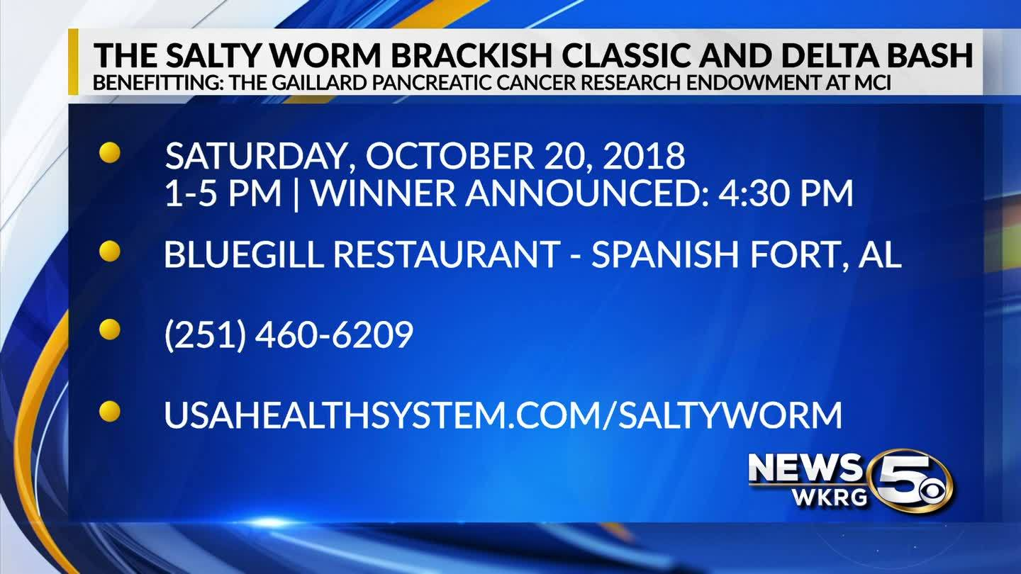The Salty Worm Brackish Classic and Delta Bash