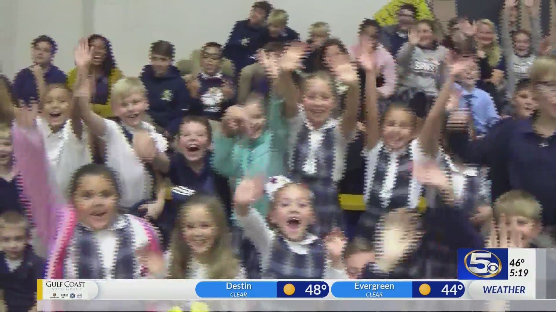 Central Christian School on Kidcam with Alan Sealls