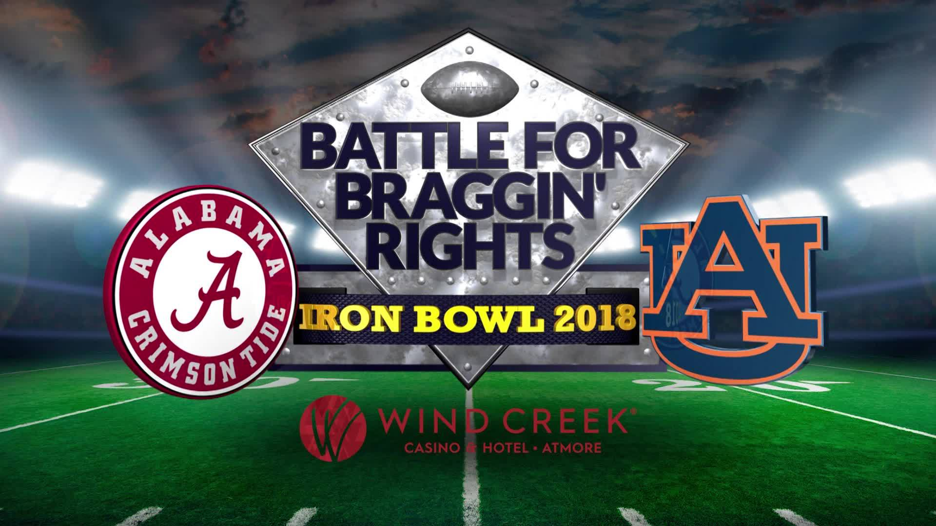 Iron Bowl Special: Battle for Braggin' Rights