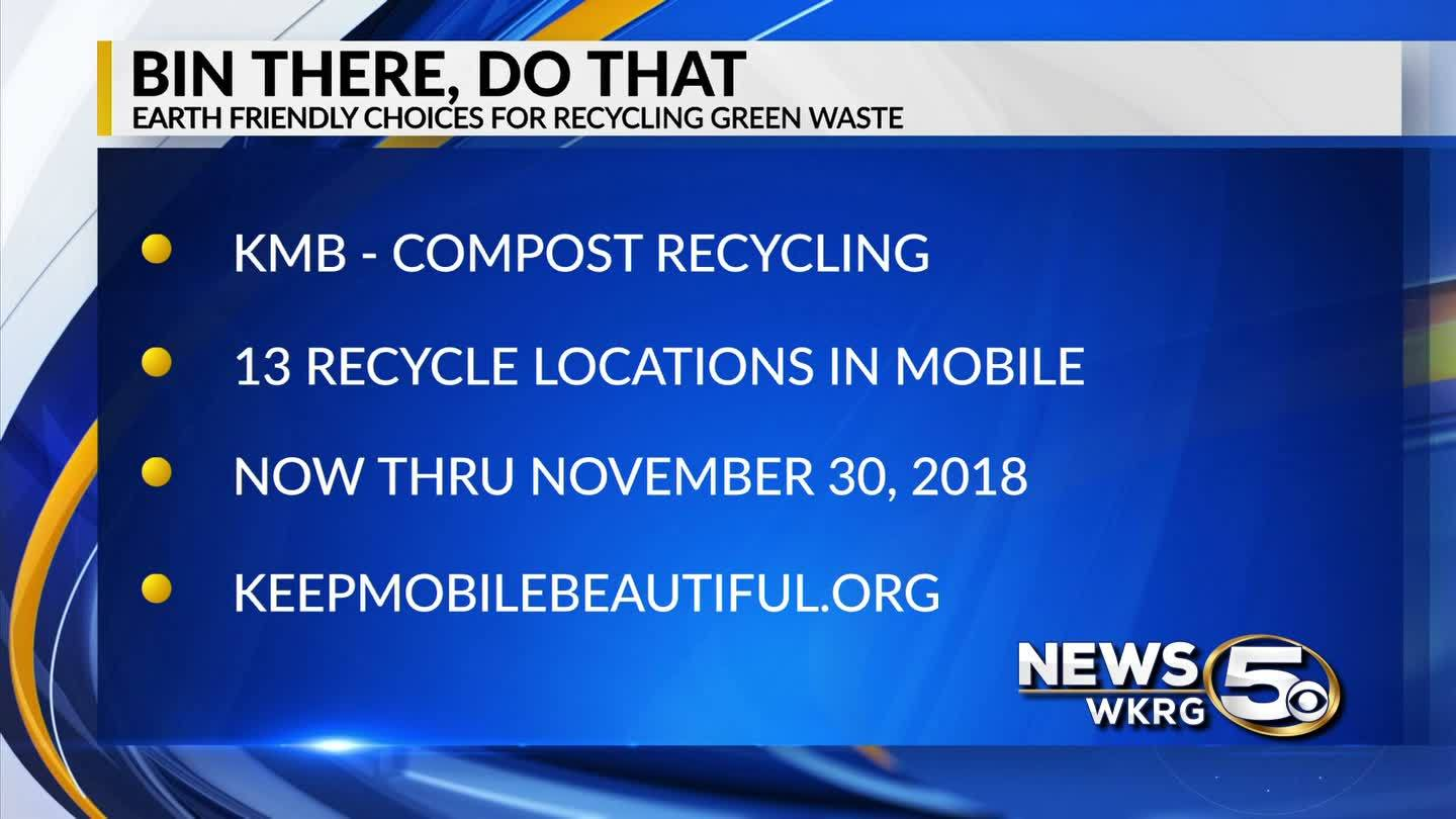 "Keep Mobile Beautiful - ""Bin There, Do That"" Compost Recycling"