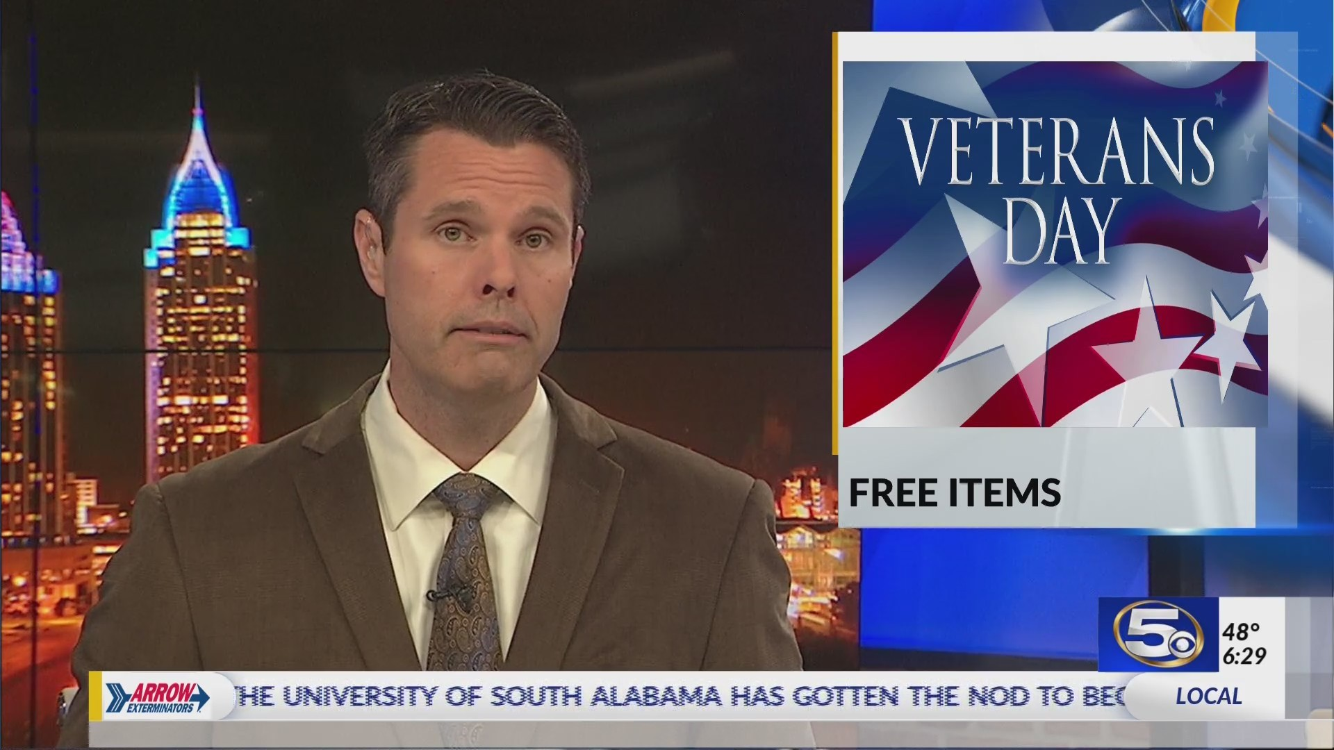 Veterans, active military to get free items