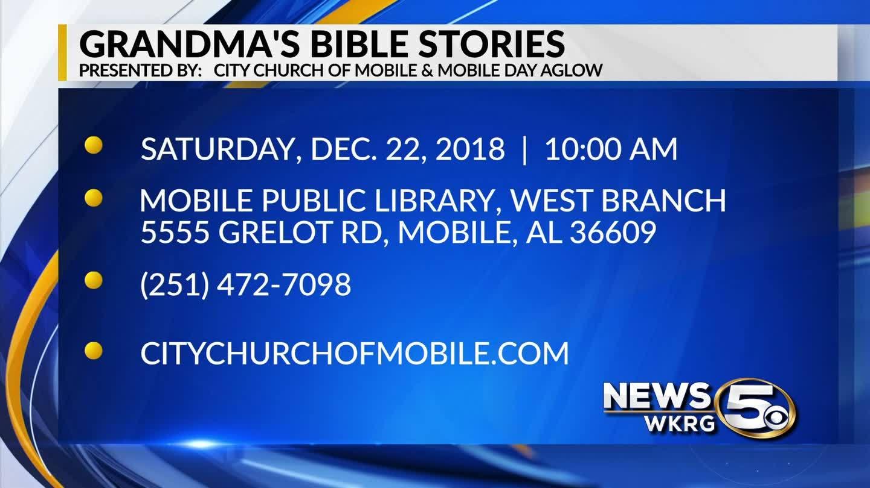 "Children invited to enjoy ""Grandma's Bible Stories"""
