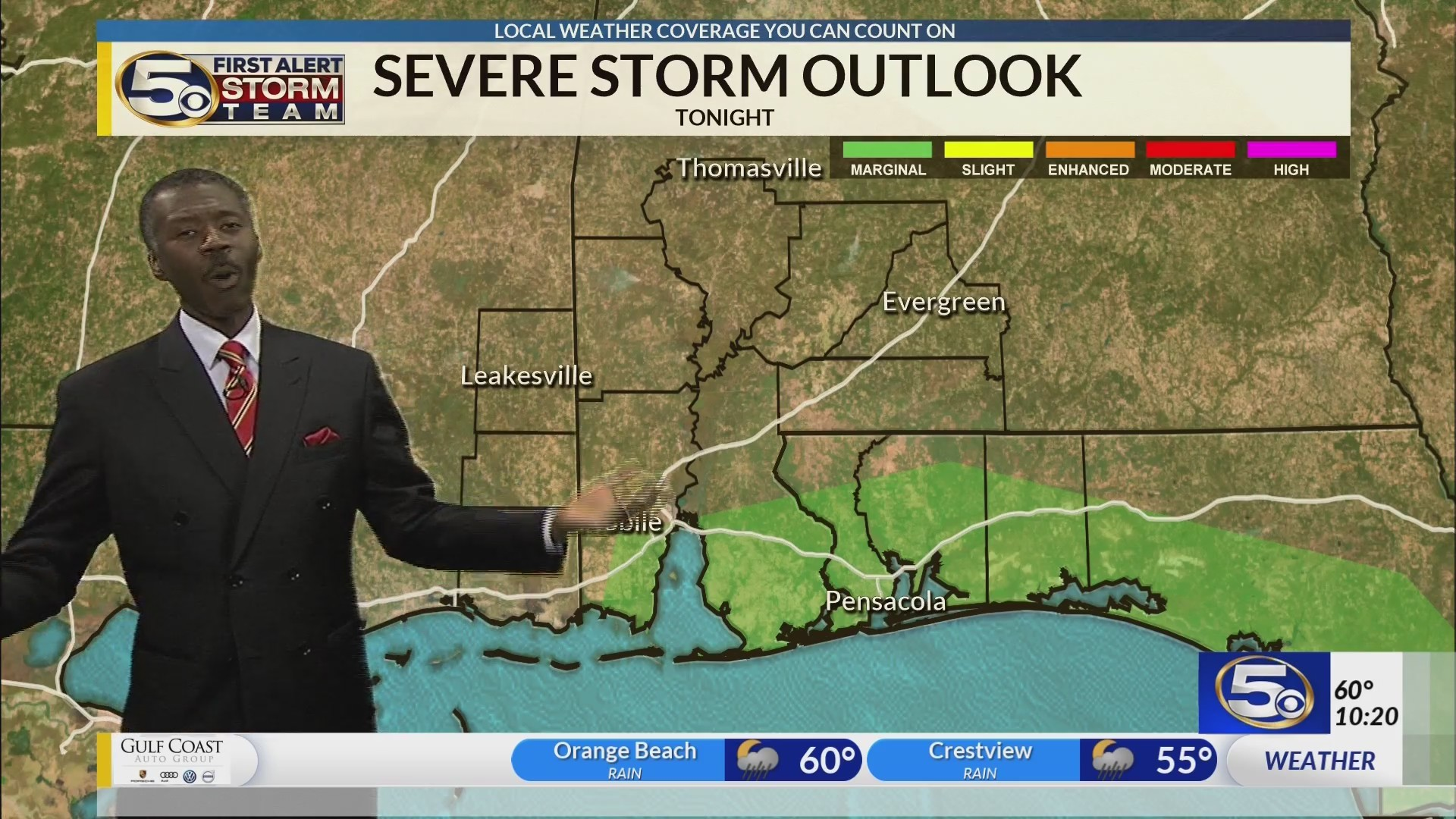 Small threat of strong storm