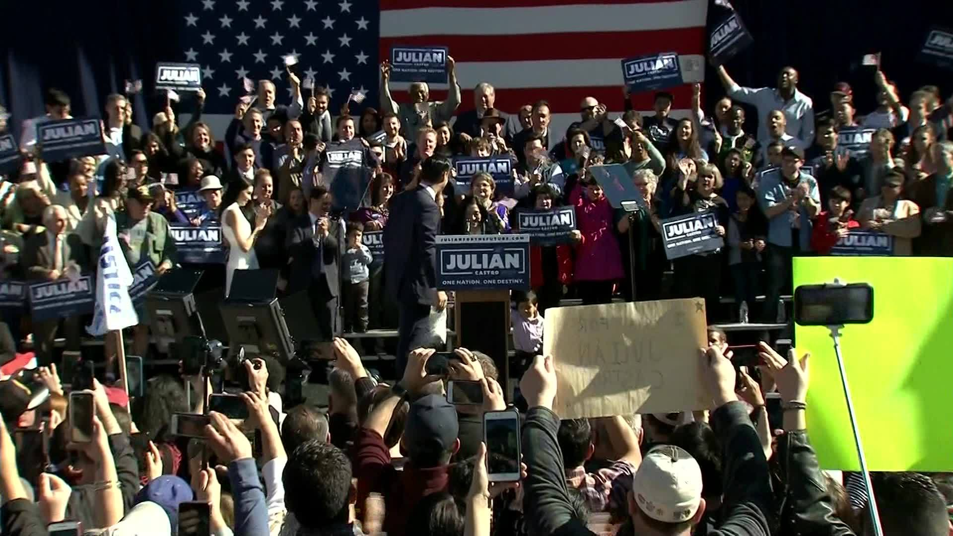 Democrat Julian Castro announces run for president