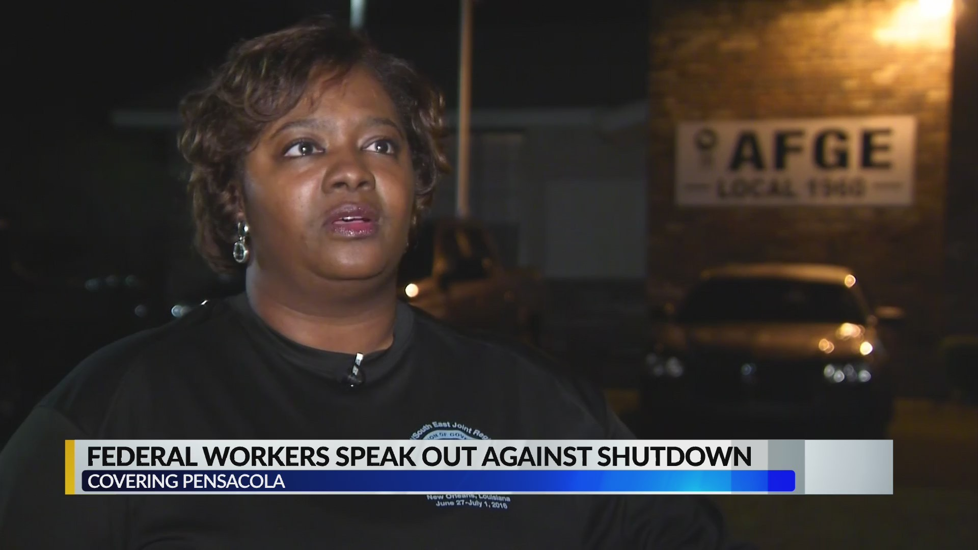 VIDEO: Local federal workers, union leaders speak out against shutdown