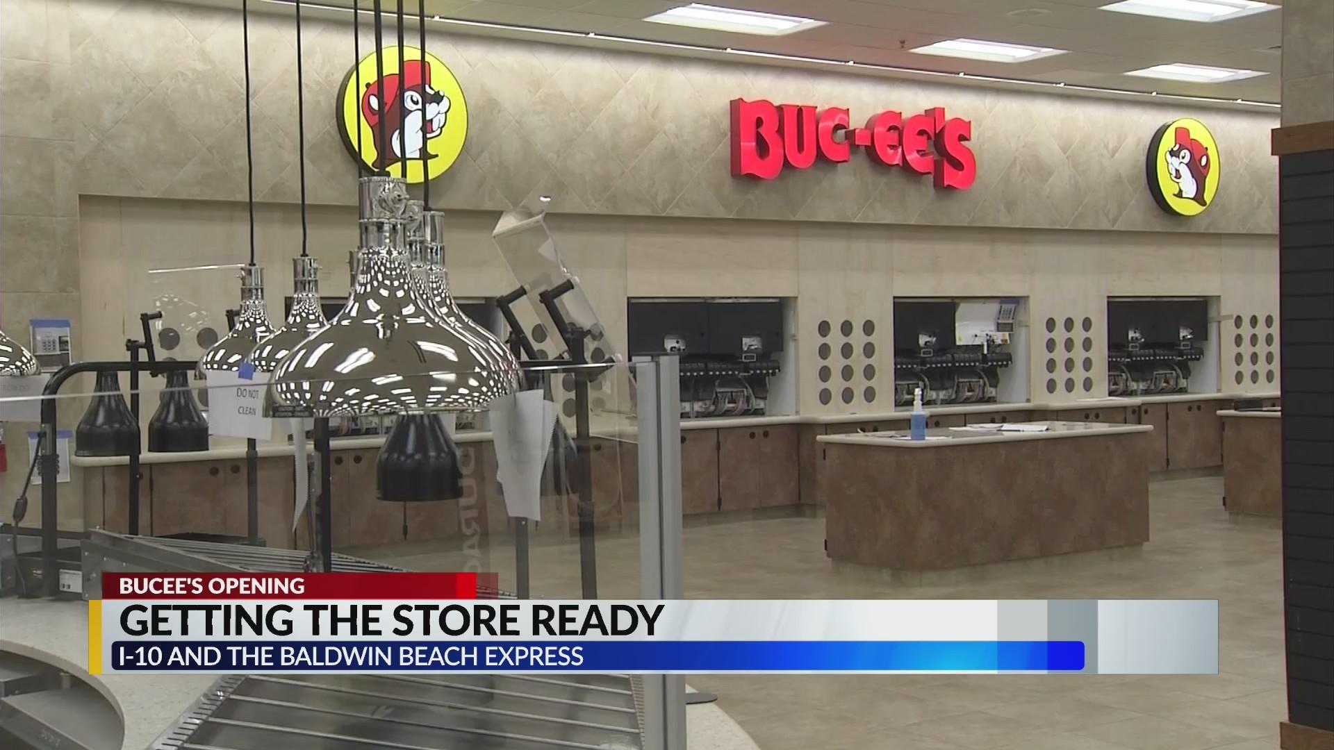 VIDEO:  Inside Buc-ee's in Baldwin County