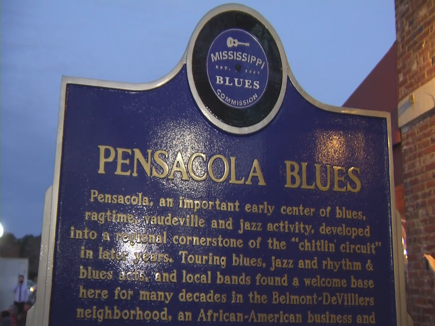 Belmont-DeVilliers historic district gets Mississippi Blues Marker