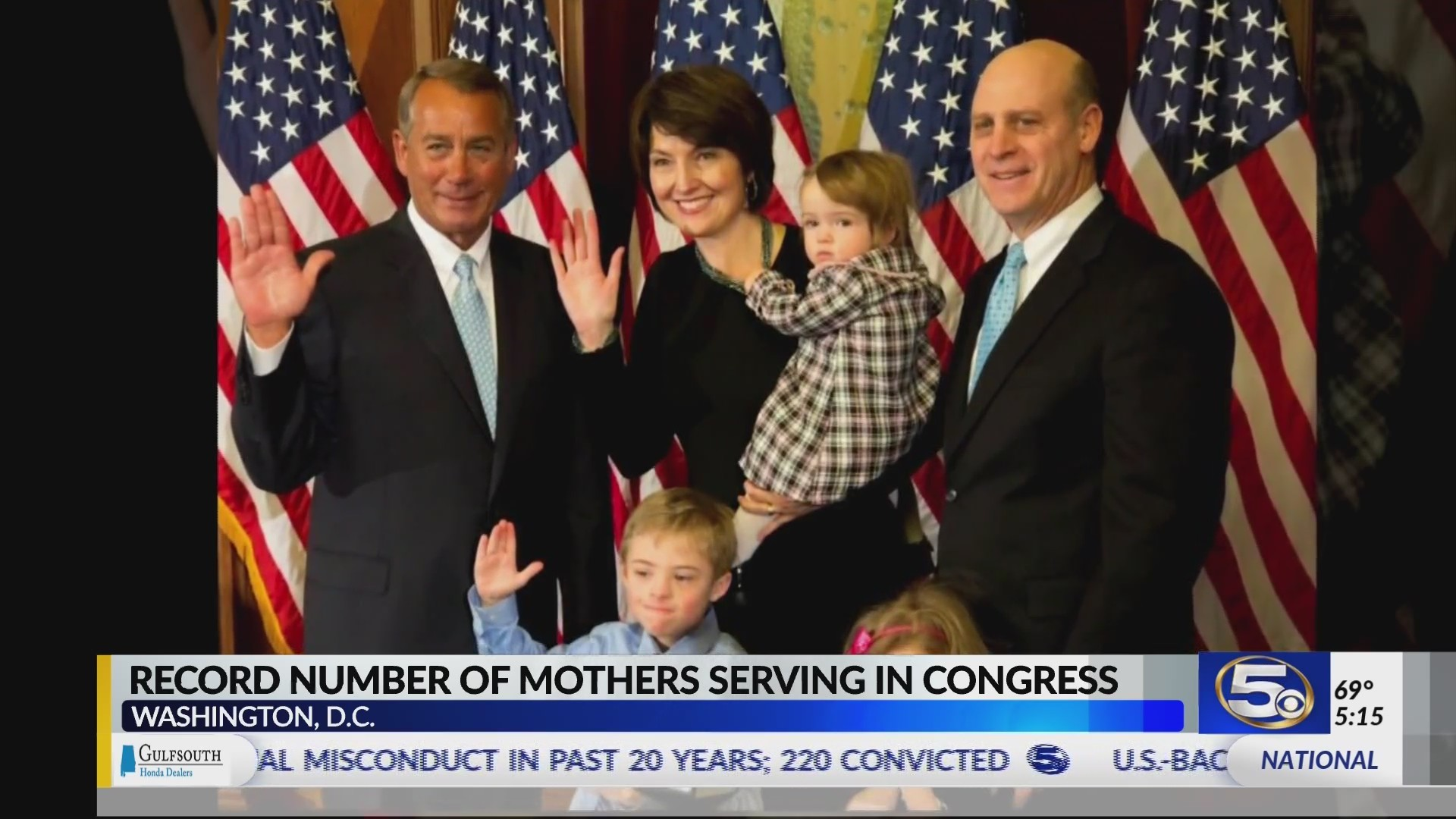 VIDEO: More moms than ever serve in U.S. Congress