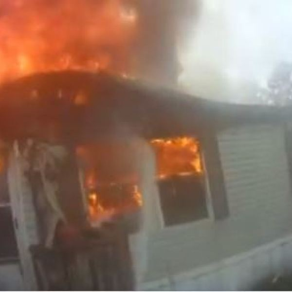 Caught on Camera: House fire in Citronelle