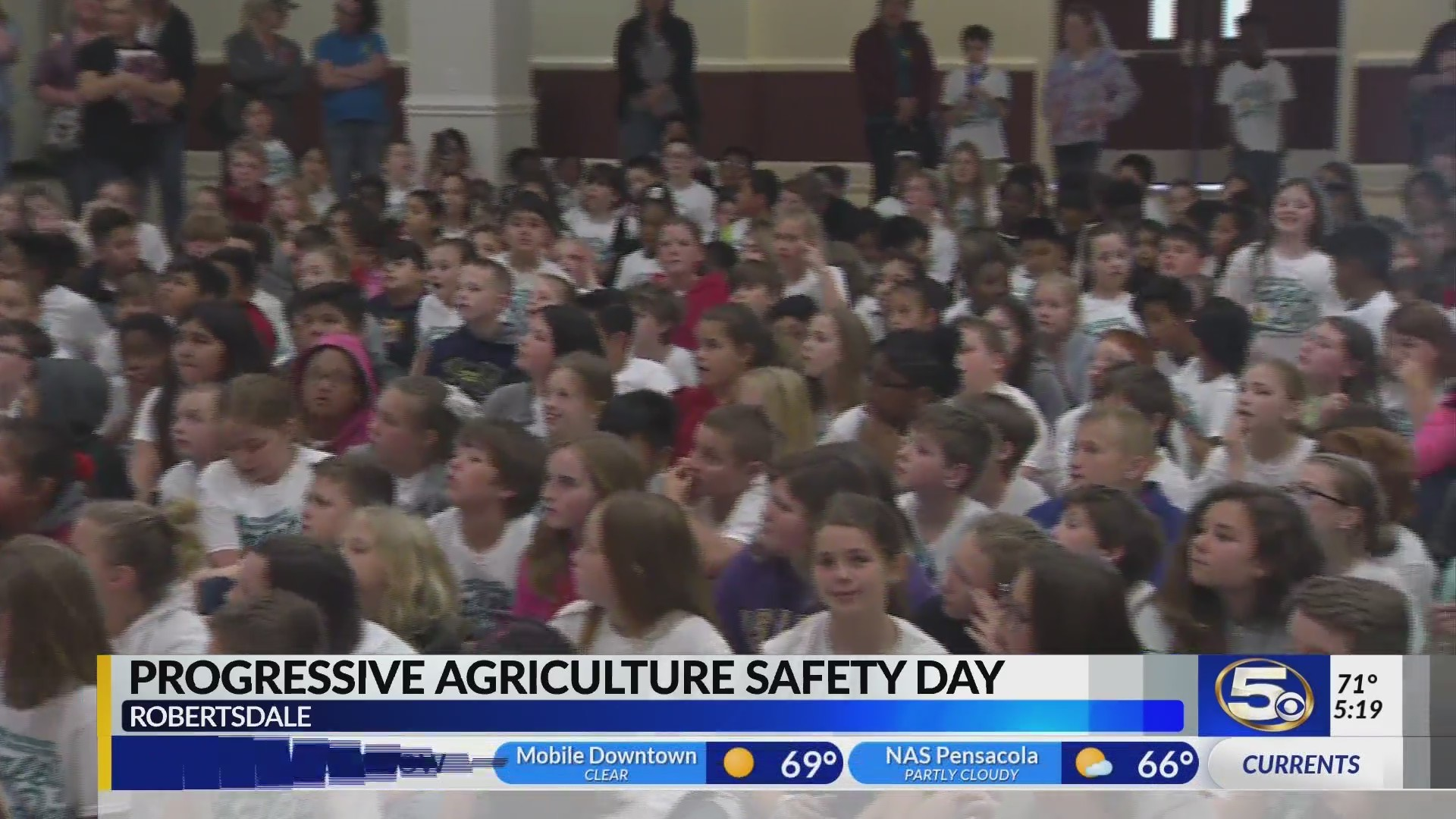 Progressive Agriculture Safety Day in Robertsdale 2019