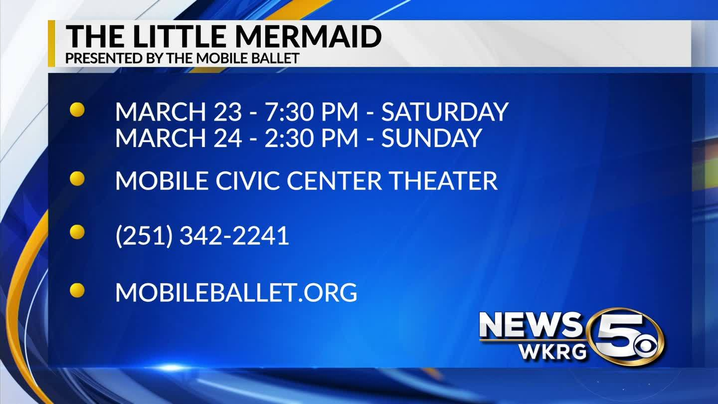 The Little Mermaid at the Mobile Ballet