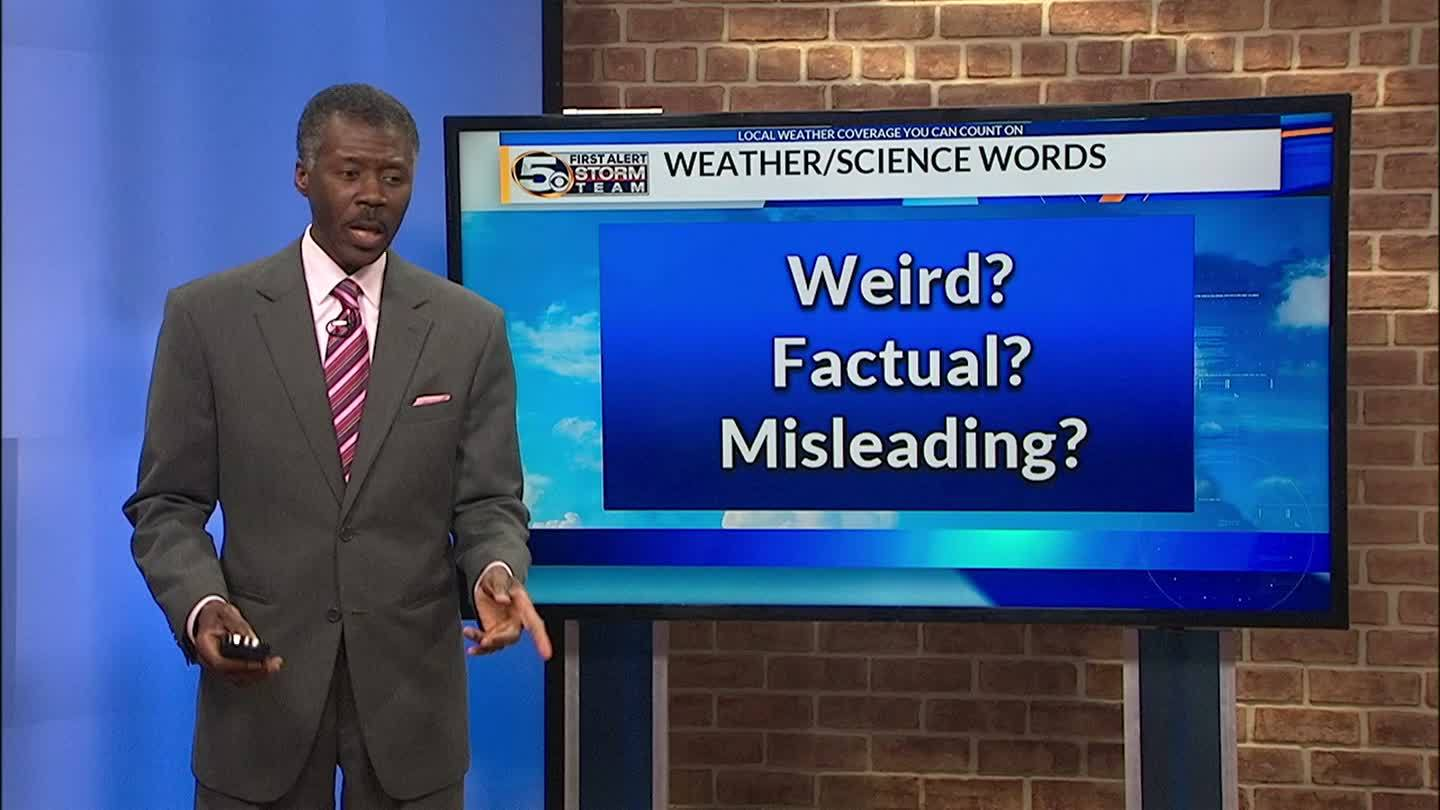 Top 10 Weird Weather and Science Words and Phrases