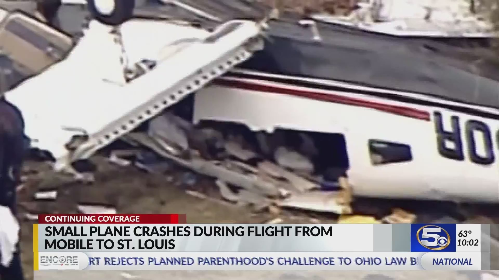 VIDEO: Small plane from Mobile carrying family aboard crashes in southern Illinois