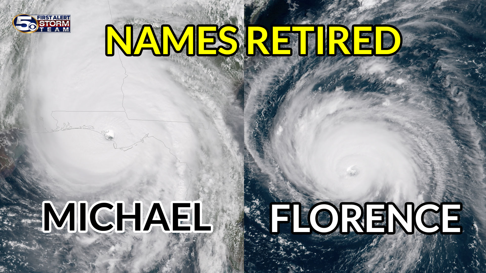 michael florence name retire hurricane 2018