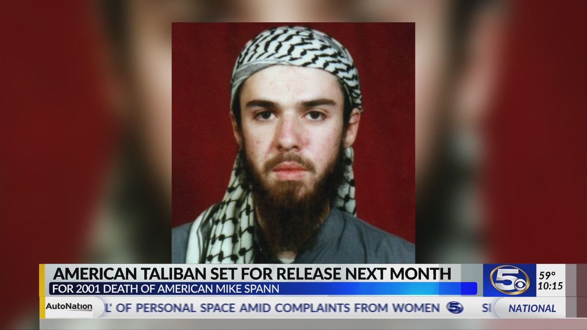 American Taliban set for release