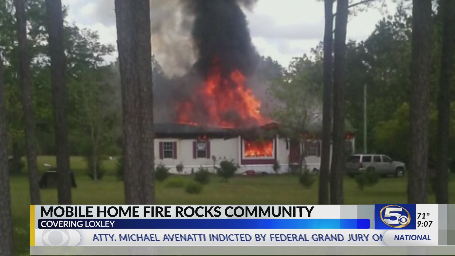 Fire destroys Loxley home single mother shares with her three boys