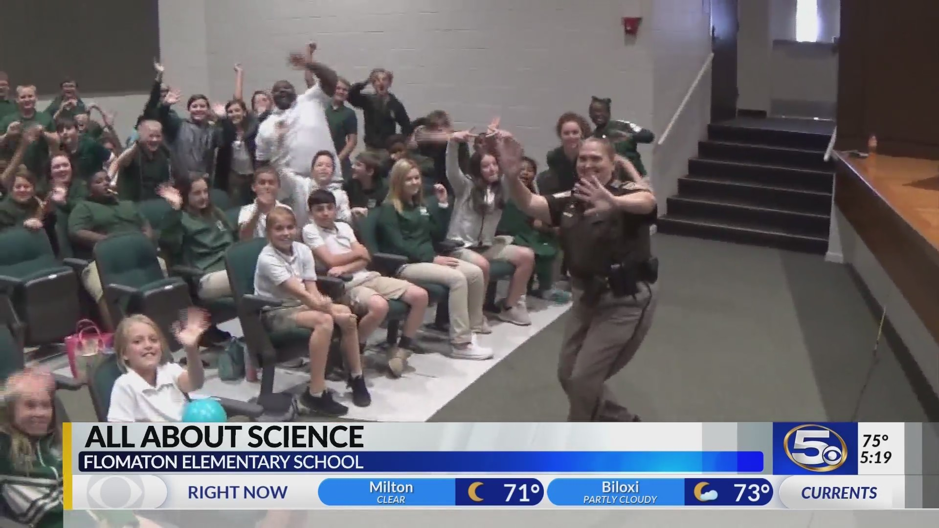 Flomaton Elementary on Kidcam with Alan Sealls