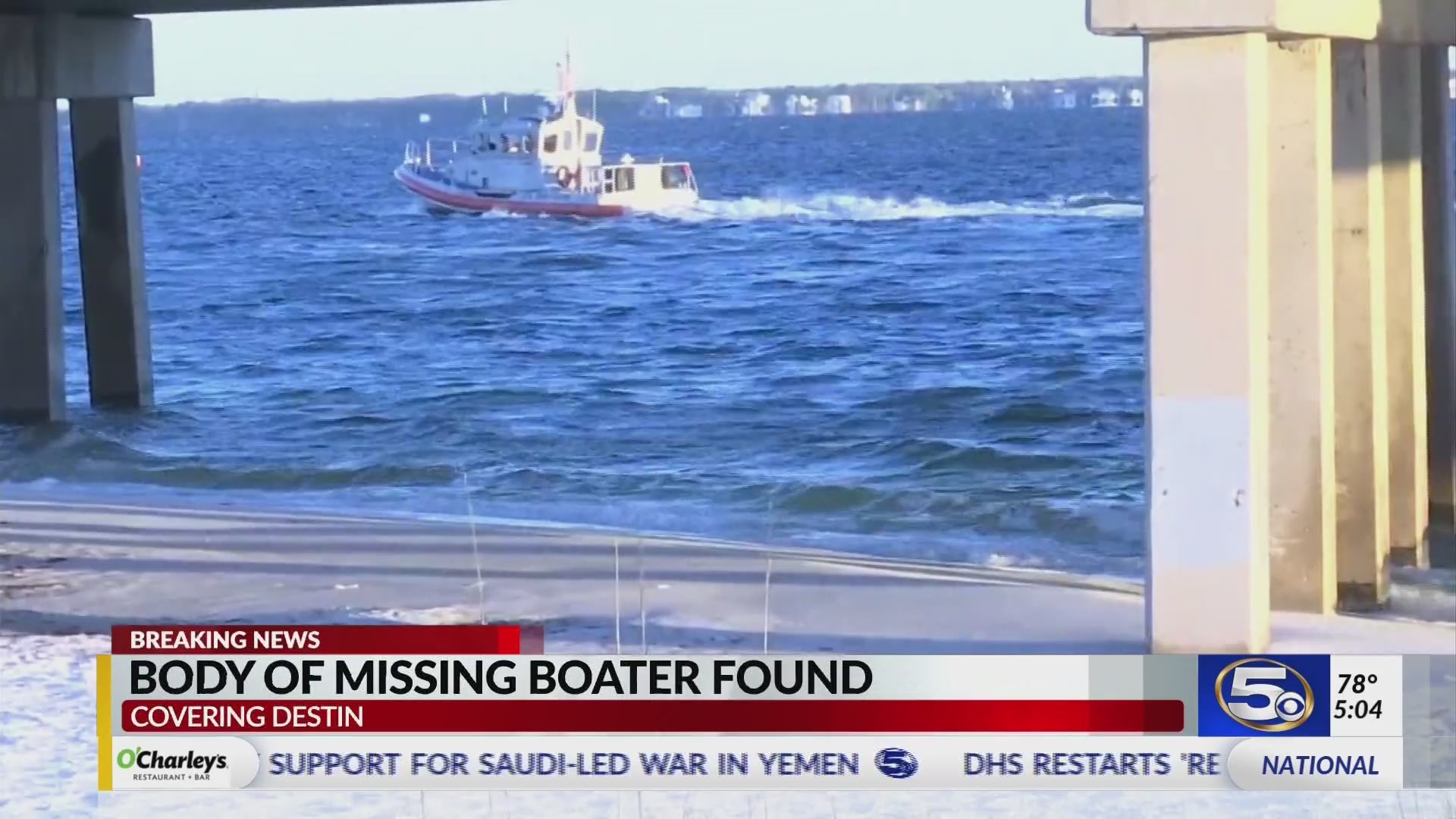 VIDEO: Body of missing boater found, recovered