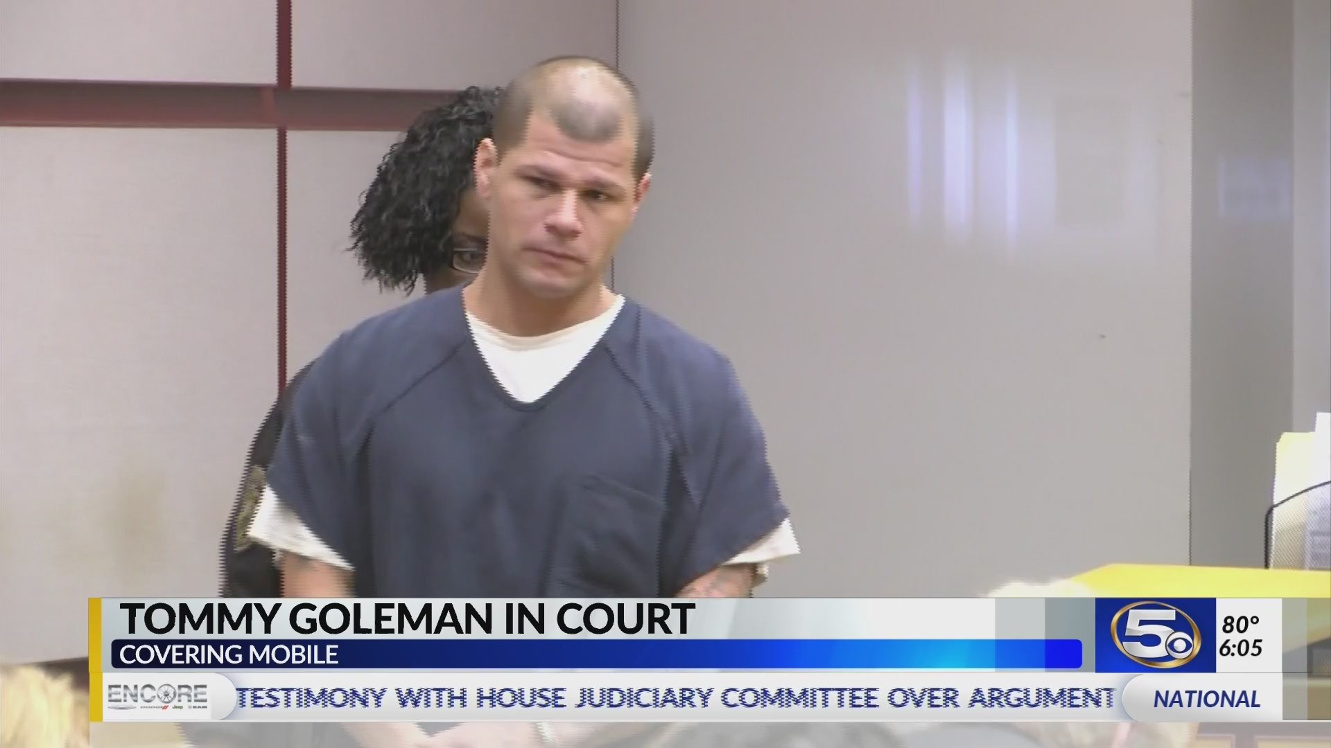 VIDEO: Man accused of shooting at MPD and starting two day manhunt pleads not guilty