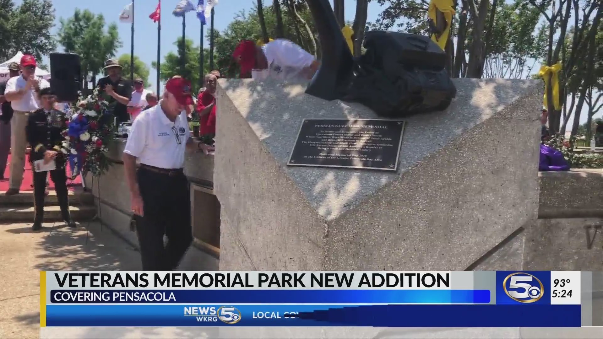 Persian Gulf Memorial unveiled in Pensacola