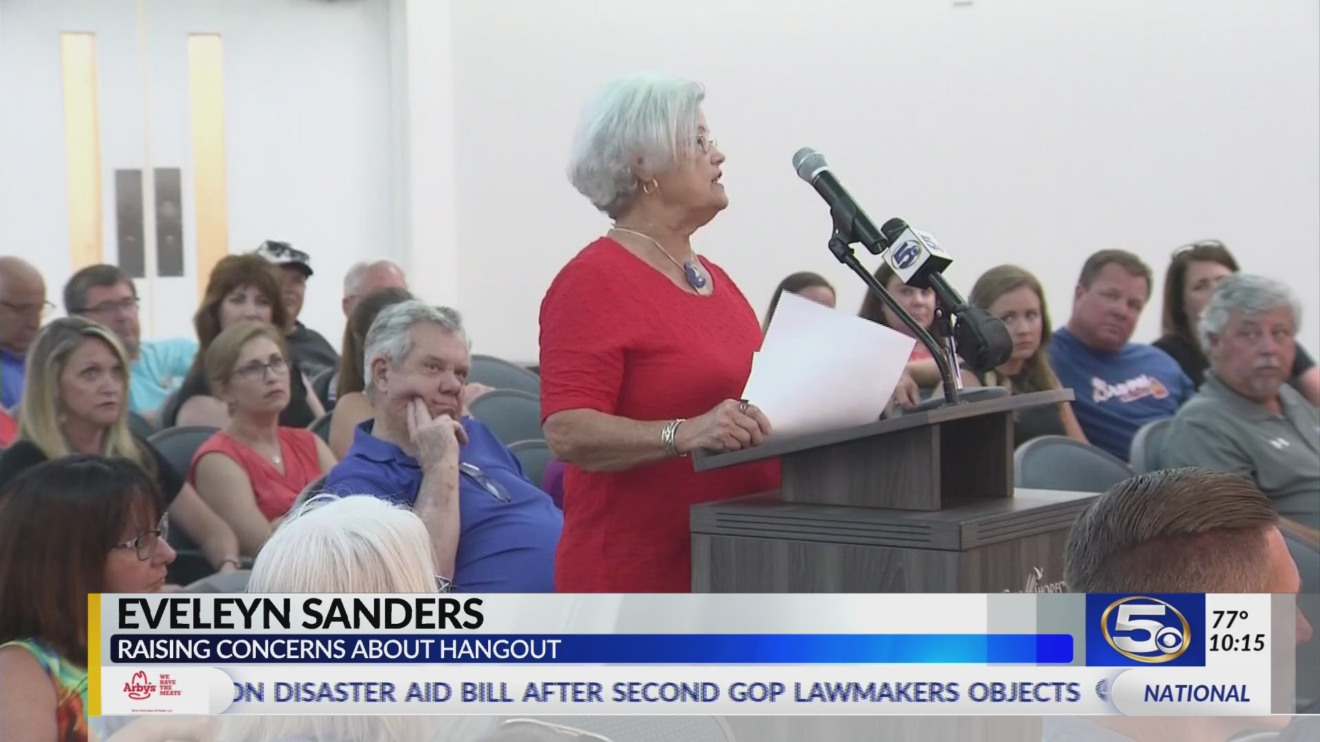 VIDEO: Citizens pack city hall to discuss Hangout Fest concerns