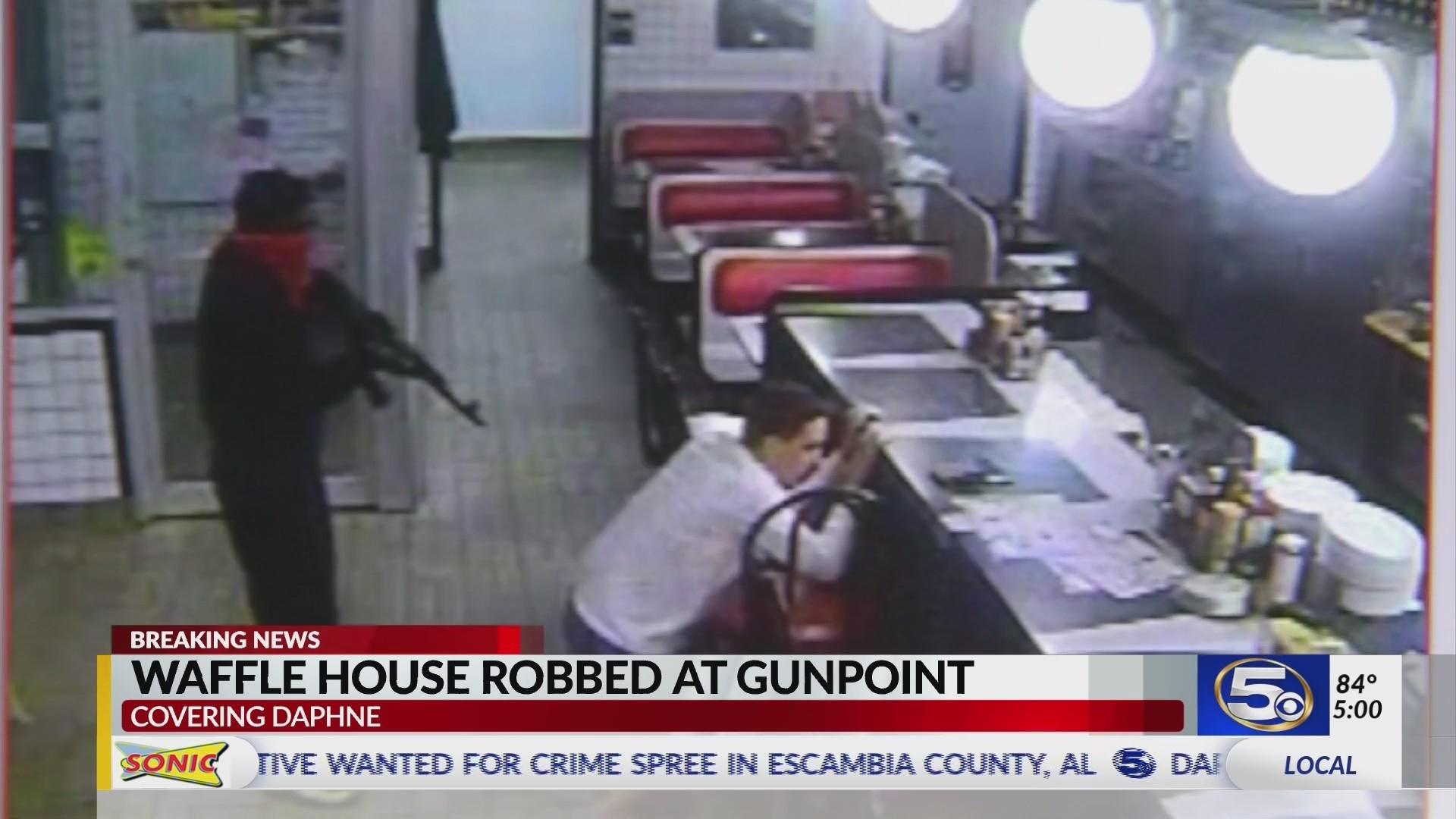 Daphne Waffle House armed robbery