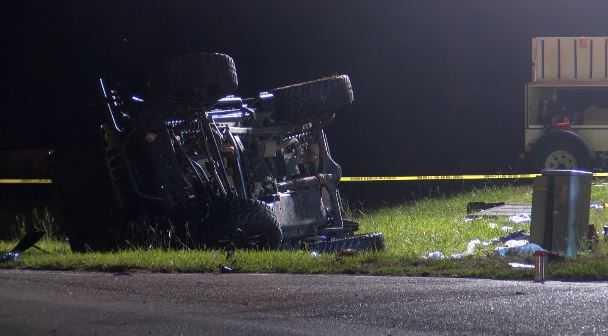 Two dead in Highway 90 car crash in Robertsdale