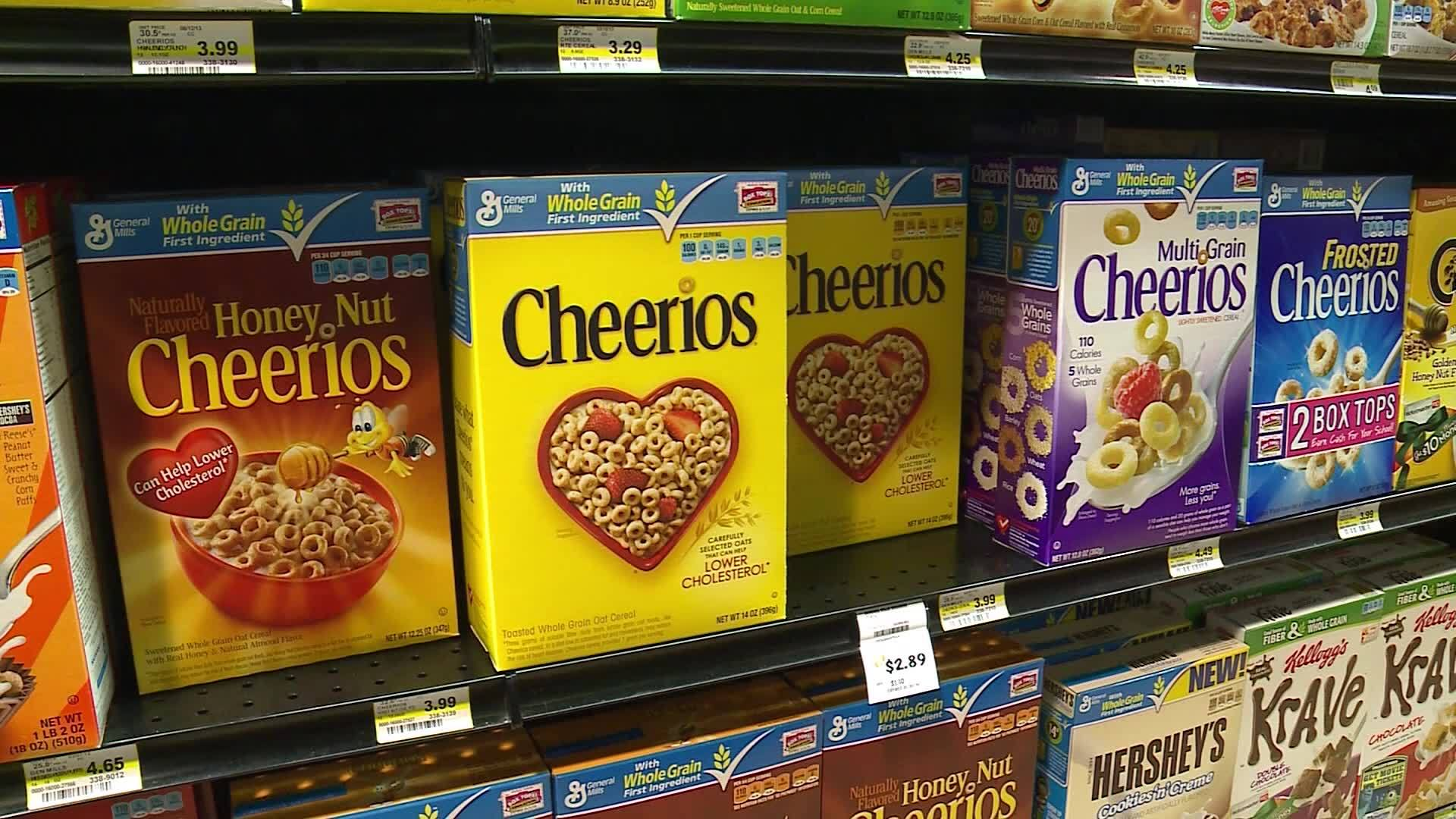 Report: Cereals contaminated by weed killer