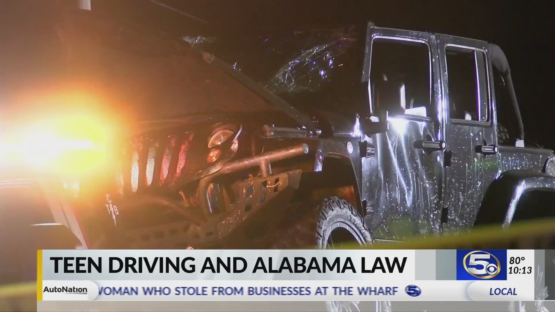In wake of Robertsdale crash, News 5 talks to ALEA about laws for