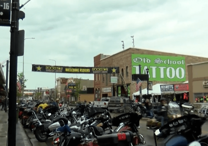 Downtown Sturgis Sd Motorcycle Rally