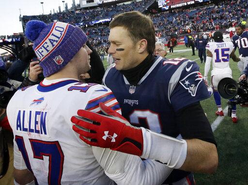 Josh Allen, Tom Brady