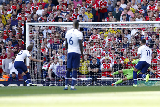 Tottenham throws away lead against Arsenal, unease persists