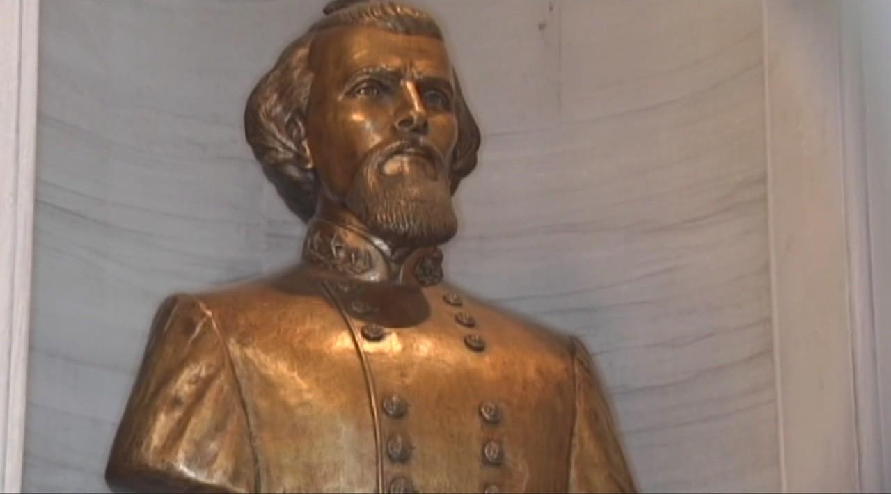 Nathan Bedford Forrest bust_61604