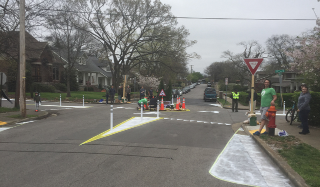12South neighbors create 'pop-up' roundabouts_406379