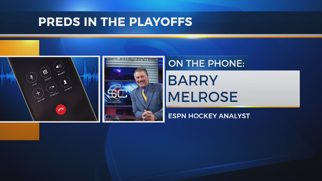 ESPN's Barry Melrose joins Good Morning Nashville to talk Preds