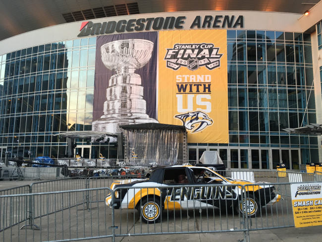 Downtown Nashville preps for first Stanley Cup Final game