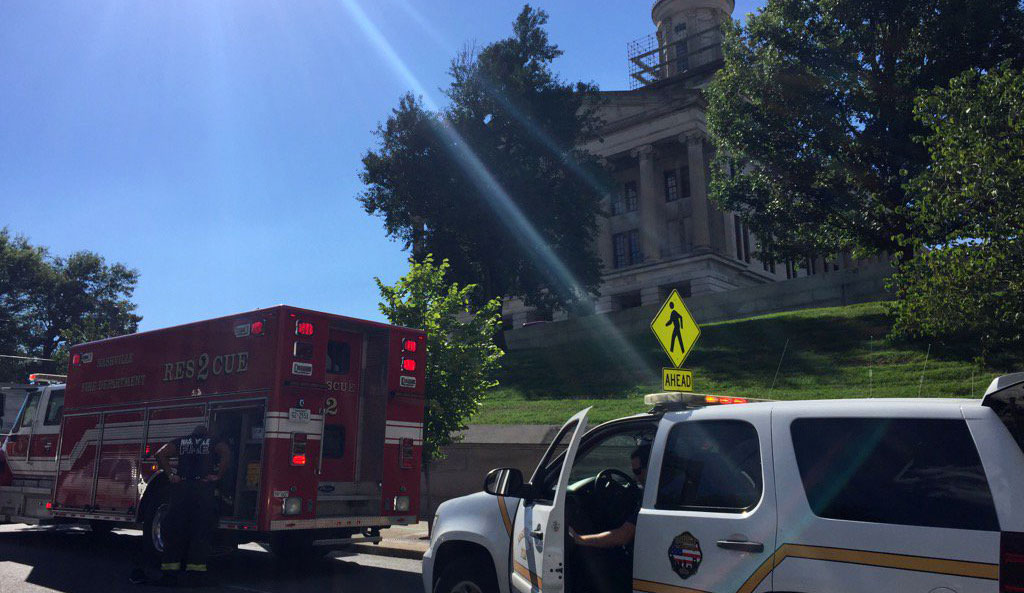 Tennessee State Capitol fire_420472