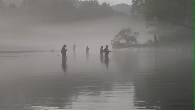 Trout fishing on the Caney Fork_423856