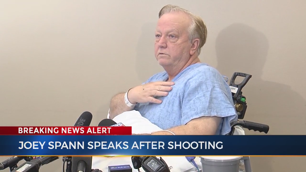 Minister injured in mass shooting speaks for 1st time