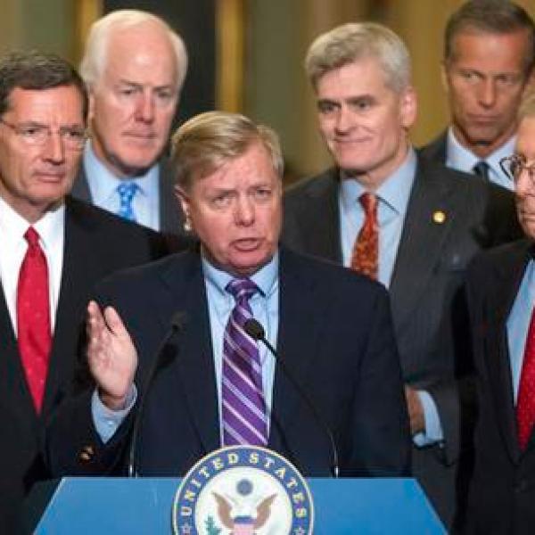 Lindsey Graham, John Cornyn, John Barrasso, Bill Cassidy, Mitch McConnell, John Thune_445771