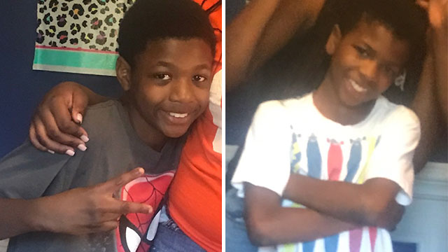 Damani Johnson, 12, and Demetrius Johnson, 10_457389